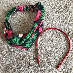Head wrap and headband